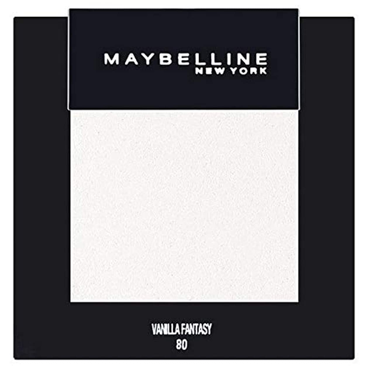 上級痛い魔法[Maybelline ] メイベリンカラーショーシングルアイシャドウ80バニラ - Maybelline Color Show Single Eyeshadow 80 Vanilla [並行輸入品]