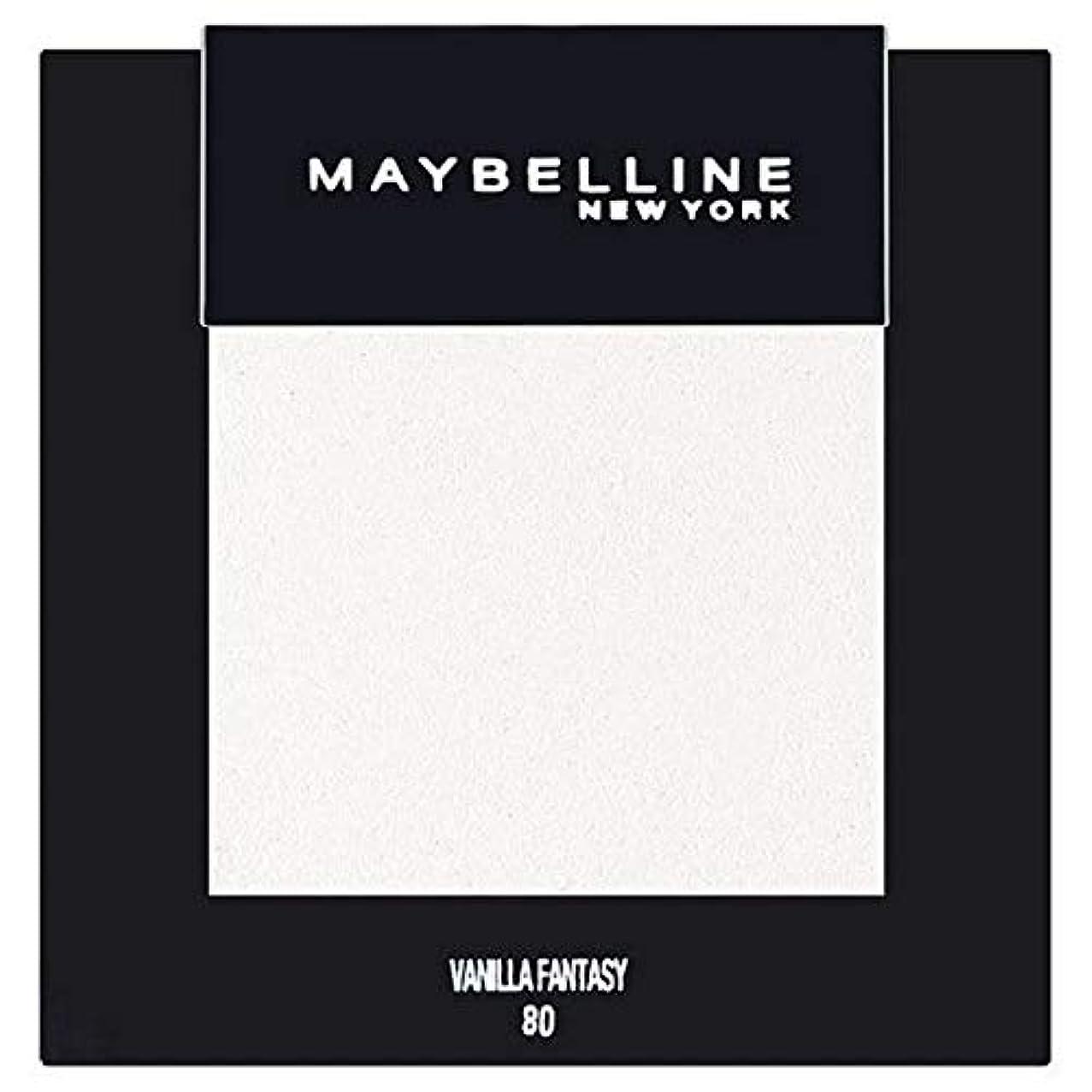 ユーモア無礼に火炎[Maybelline ] メイベリンカラーショーシングルアイシャドウ80バニラ - Maybelline Color Show Single Eyeshadow 80 Vanilla [並行輸入品]