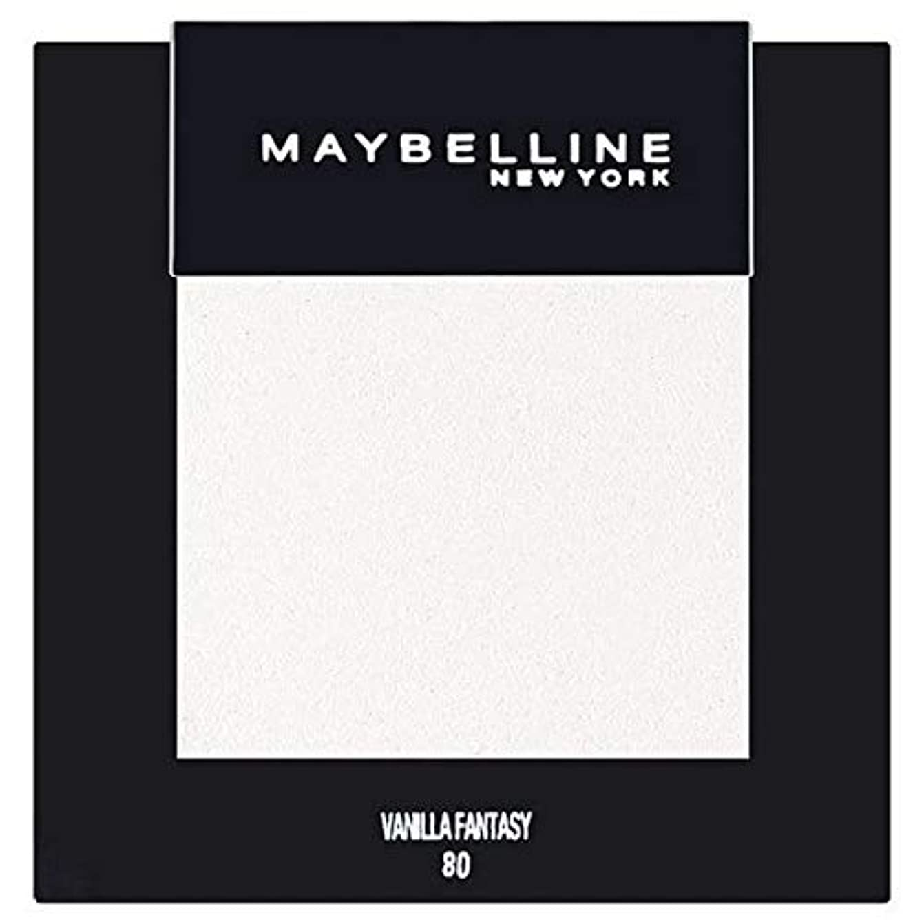 ますますバッグ絡み合い[Maybelline ] メイベリンカラーショーシングルアイシャドウ80バニラ - Maybelline Color Show Single Eyeshadow 80 Vanilla [並行輸入品]