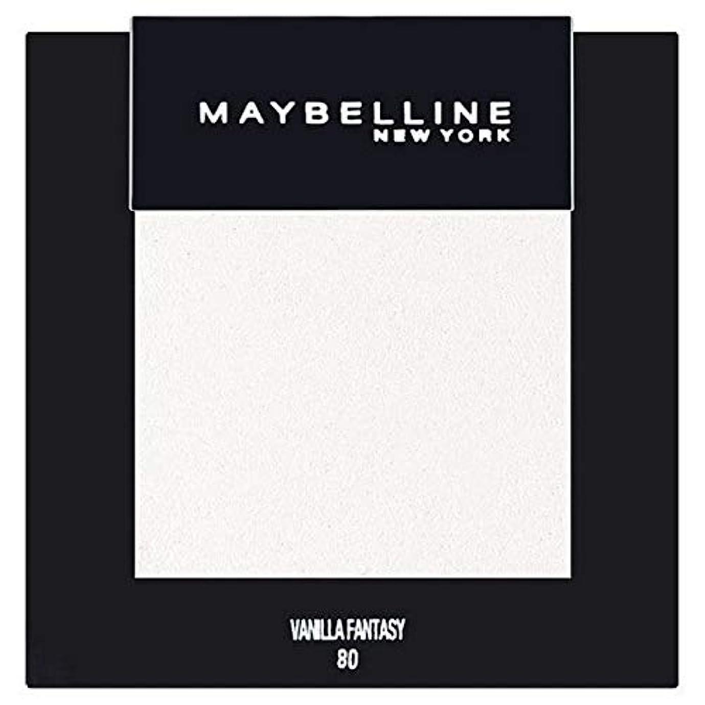 エスカレーターやがてビルダー[Maybelline ] メイベリンカラーショーシングルアイシャドウ80バニラ - Maybelline Color Show Single Eyeshadow 80 Vanilla [並行輸入品]