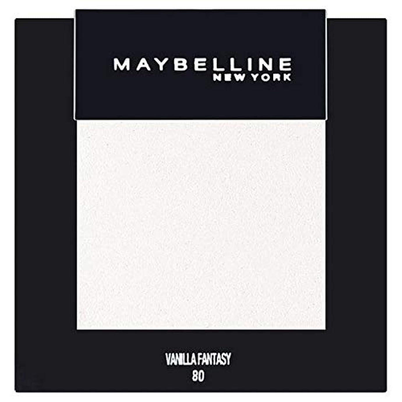 断線純粋なドライブ[Maybelline ] メイベリンカラーショーシングルアイシャドウ80バニラ - Maybelline Color Show Single Eyeshadow 80 Vanilla [並行輸入品]