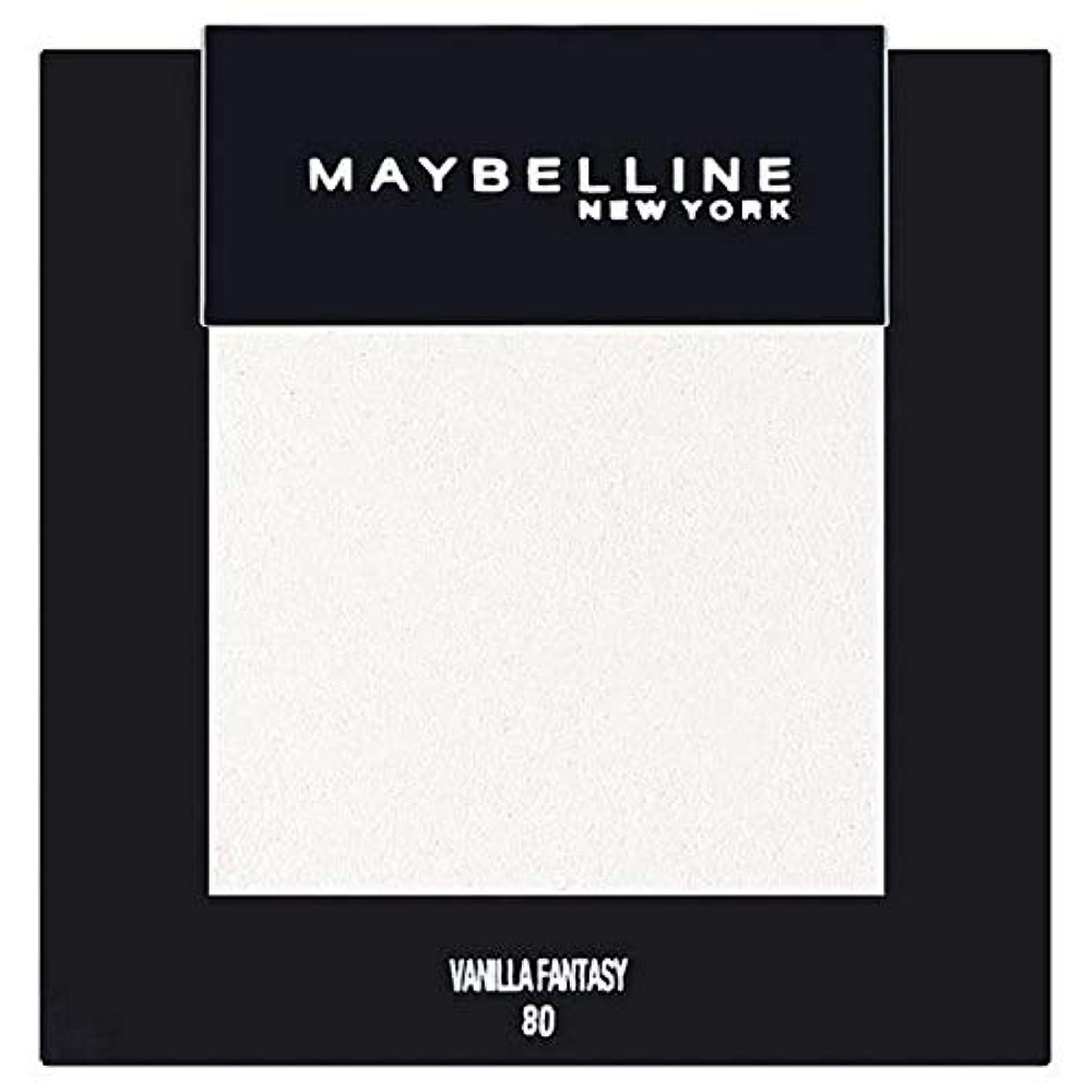 悪名高い紛争アルバム[Maybelline ] メイベリンカラーショーシングルアイシャドウ80バニラ - Maybelline Color Show Single Eyeshadow 80 Vanilla [並行輸入品]