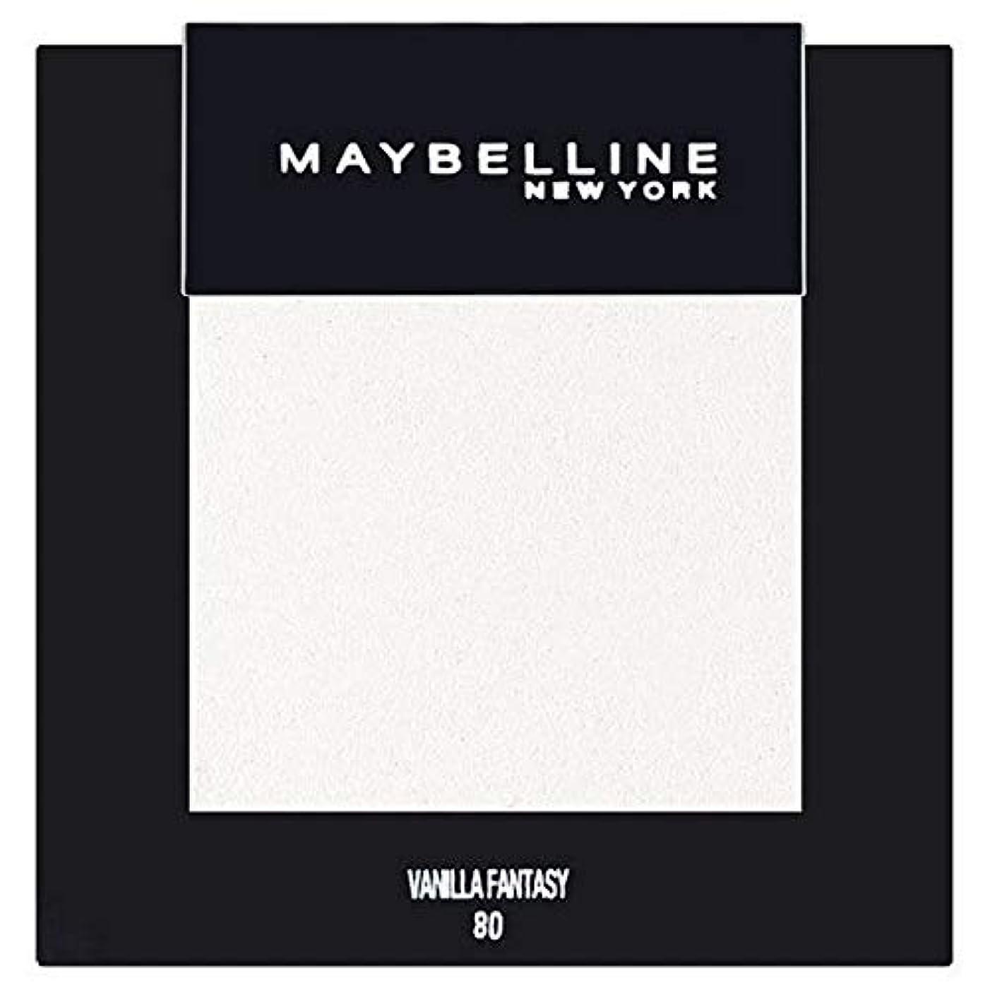 より平らな締め切り権利を与える[Maybelline ] メイベリンカラーショーシングルアイシャドウ80バニラ - Maybelline Color Show Single Eyeshadow 80 Vanilla [並行輸入品]