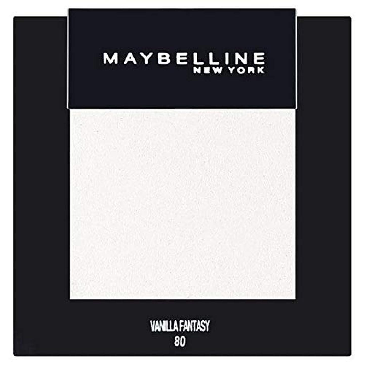 深く最小化する意図[Maybelline ] メイベリンカラーショーシングルアイシャドウ80バニラ - Maybelline Color Show Single Eyeshadow 80 Vanilla [並行輸入品]