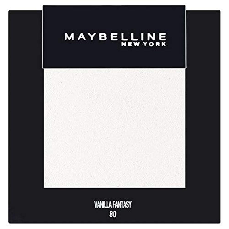 滅びる何もない扇動[Maybelline ] メイベリンカラーショーシングルアイシャドウ80バニラ - Maybelline Color Show Single Eyeshadow 80 Vanilla [並行輸入品]