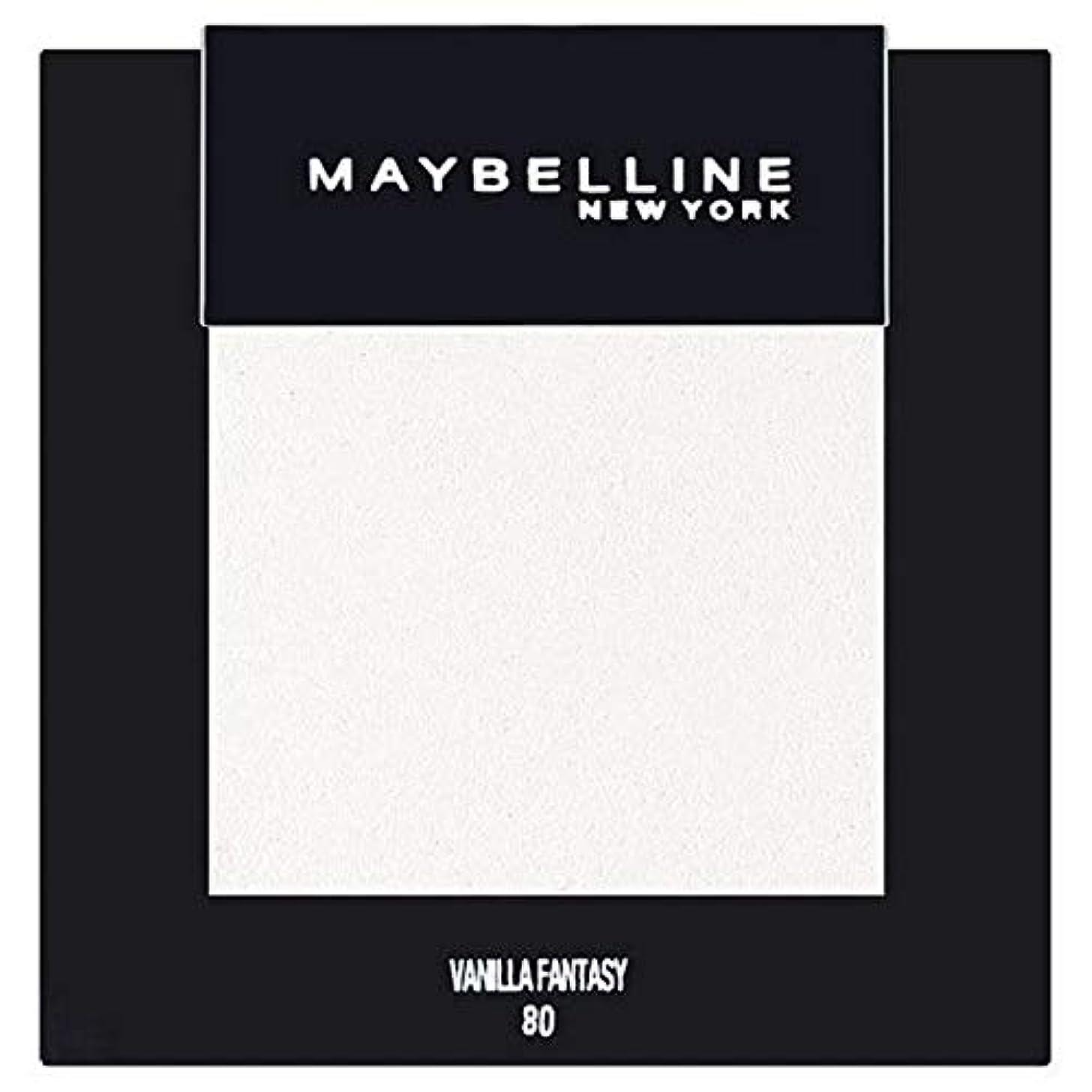それる判読できない船形[Maybelline ] メイベリンカラーショーシングルアイシャドウ80バニラ - Maybelline Color Show Single Eyeshadow 80 Vanilla [並行輸入品]
