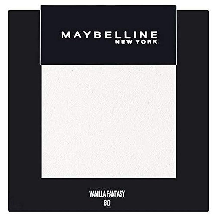 ブルジョン床ずんぐりした[Maybelline ] メイベリンカラーショーシングルアイシャドウ80バニラ - Maybelline Color Show Single Eyeshadow 80 Vanilla [並行輸入品]