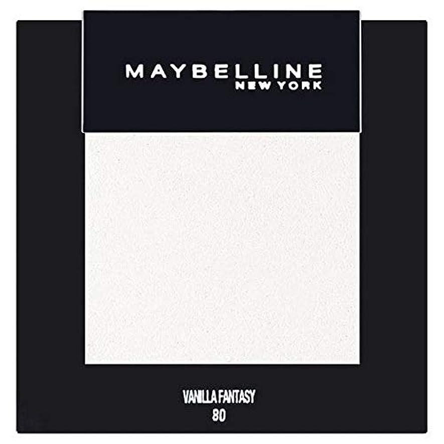 マイナス反発するコンドーム[Maybelline ] メイベリンカラーショーシングルアイシャドウ80バニラ - Maybelline Color Show Single Eyeshadow 80 Vanilla [並行輸入品]