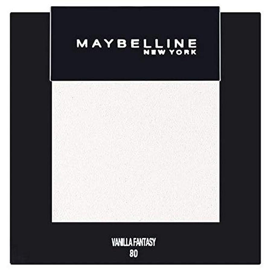 天国行商人侵略[Maybelline ] メイベリンカラーショーシングルアイシャドウ80バニラ - Maybelline Color Show Single Eyeshadow 80 Vanilla [並行輸入品]