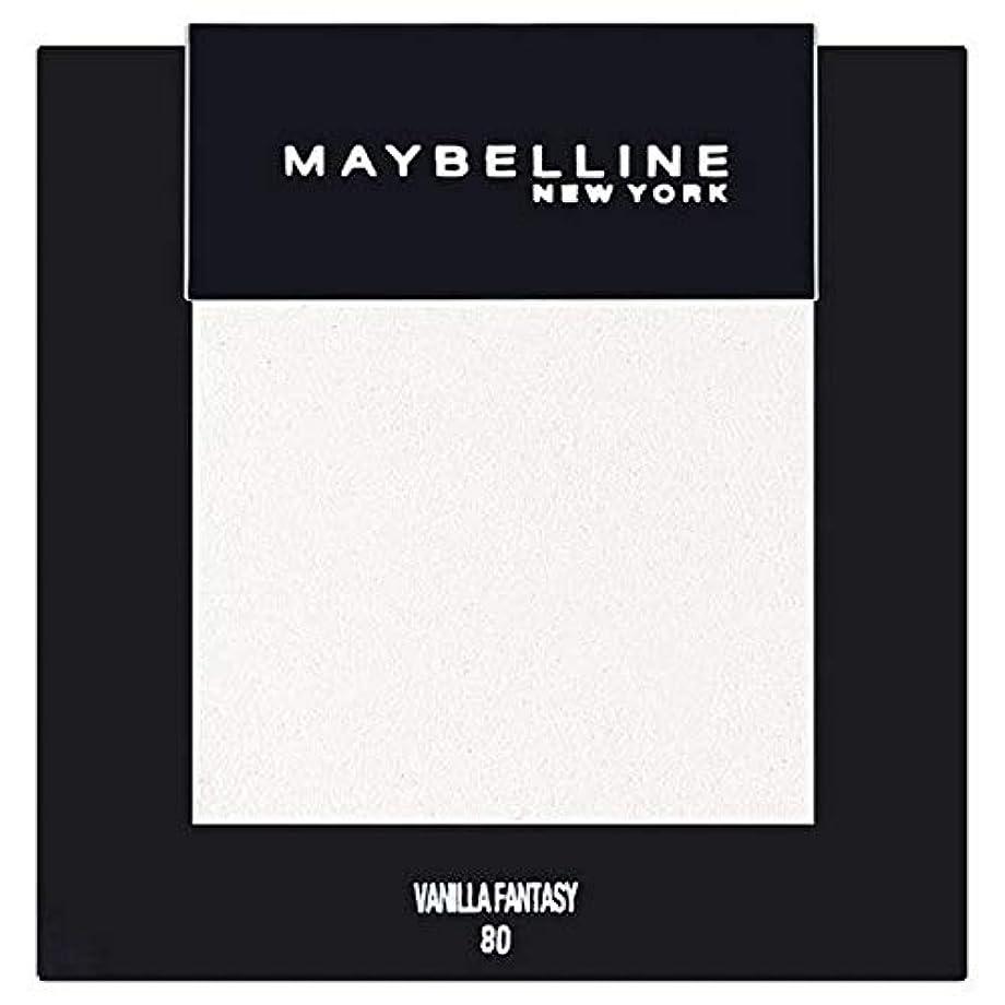 ケージ流体電子レンジ[Maybelline ] メイベリンカラーショーシングルアイシャドウ80バニラ - Maybelline Color Show Single Eyeshadow 80 Vanilla [並行輸入品]