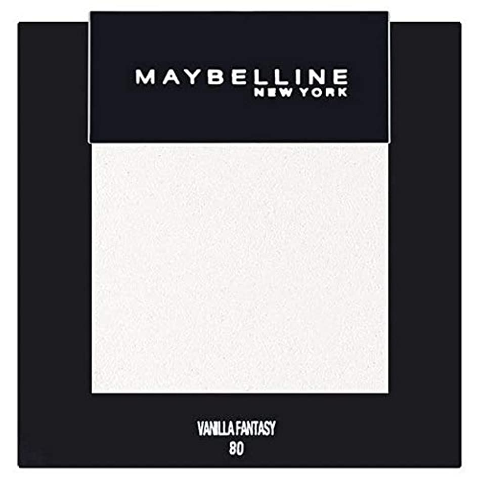 [Maybelline ] メイベリンカラーショーシングルアイシャドウ80バニラ - Maybelline Color Show Single Eyeshadow 80 Vanilla [並行輸入品]