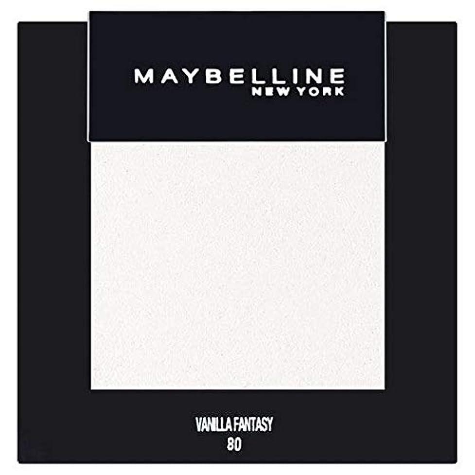 矛盾する従事する論争の的[Maybelline ] メイベリンカラーショーシングルアイシャドウ80バニラ - Maybelline Color Show Single Eyeshadow 80 Vanilla [並行輸入品]