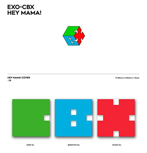 EXO-CBX - Hey Mama! (1st Mini Album) [CHEN ver.] CD with Folded Poster [KPOP MARKET特典: 追加特典フォトカードセット] [韓国盤]