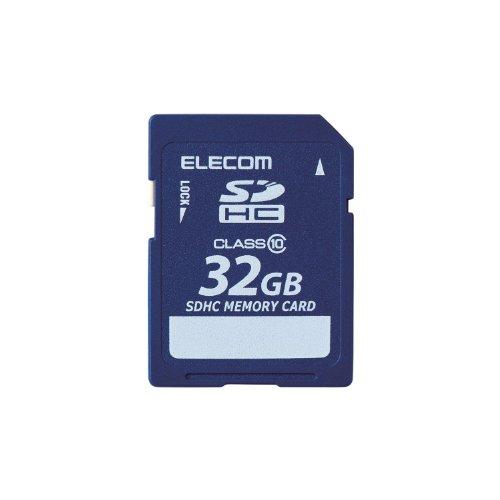 エレコムSDカードSDHCClass1032GB【データ復旧1年間1回無料サービス付】MF-FSDH32GC10R