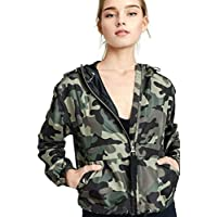 Mirabell Women's Lightweight Long Sleeve Army Camouflage Jacket