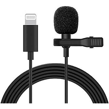 3b59977bb6 ミニマイク ライトニング マイク lightning iphone XS XR マイク ピンマイク コンデンサー マイク 全指向性 高音質 生放送  録音 iphone XS max iPhoneX iPhone8 iPad ...