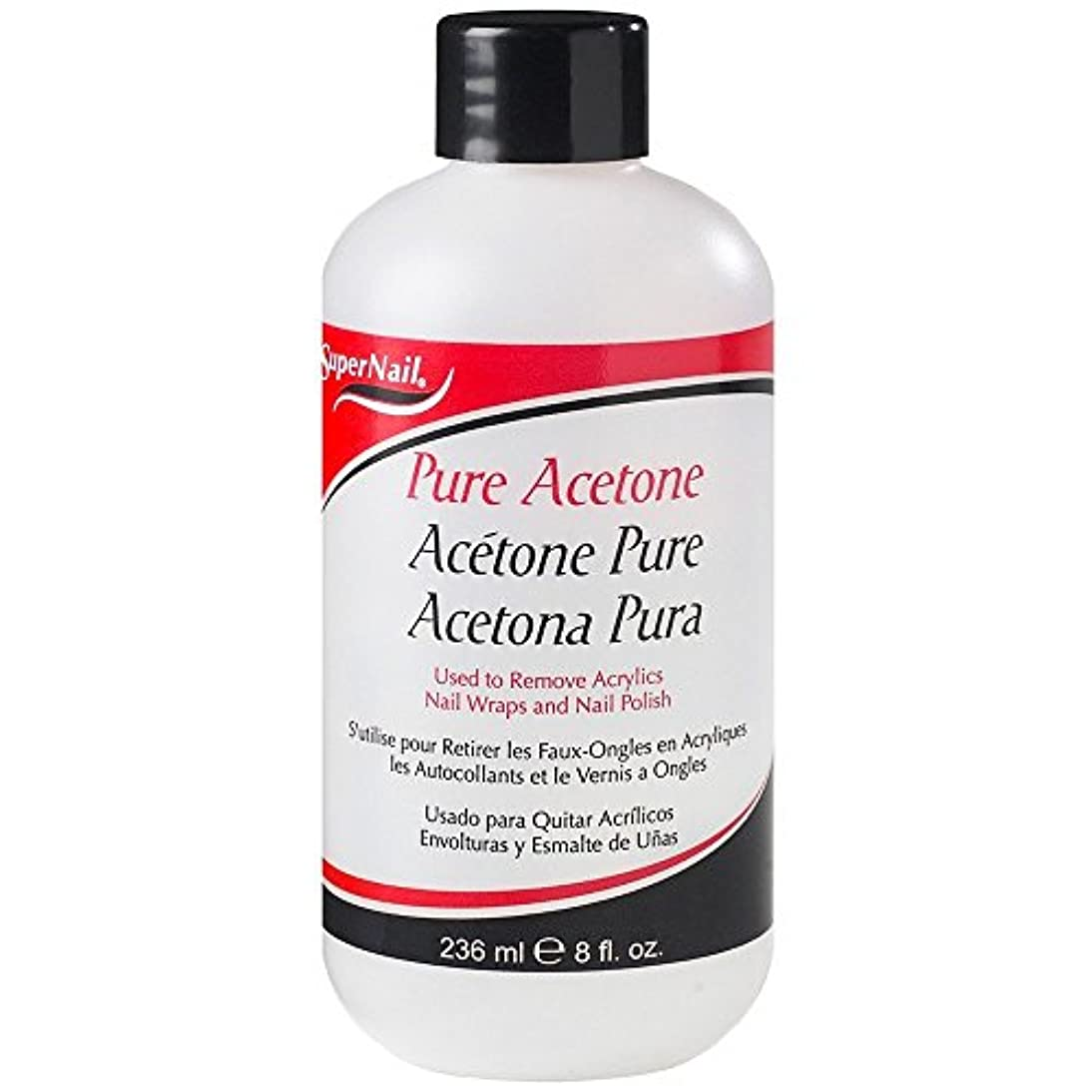 血収束するピケSuper Nail Pure Acetone Polish Remover 235 ml (並行輸入品)