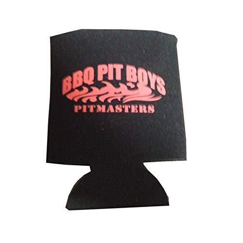 BBQ Pit Boys (バーベキューピットボーイズ) (缶 ビール クージー 缶ホルダー (黒)) [並行輸入品]