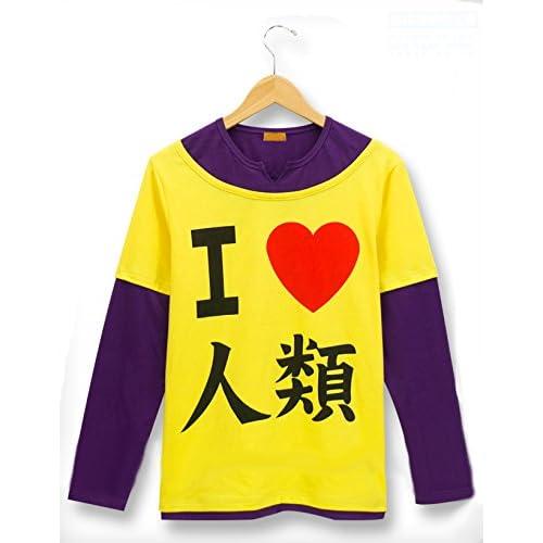 【ノーゲーム・ノーライフ 風】【空(そら)風】長袖 Tシャツ コスプレ衣装 コスチューム アニメ専線 (Lサイズ)