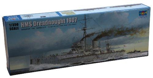 1/350 イギリス海軍戦艦 HMS ドレッドノート 1907