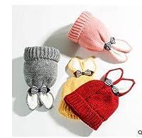 秋冬 赤ちゃん 幼児 ベビー帽子 キッズニット帽子