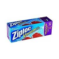 Ziploc Vacuum Pump Refill Bags Quart Size [並行輸入品]