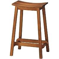 椅子 マホガニー スツール 木製 高さ60cm MHO-600ST