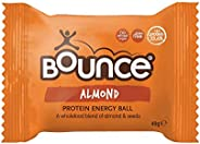 Bounce Almond Protein Hit Energy Ball, 12 x 49 Grams