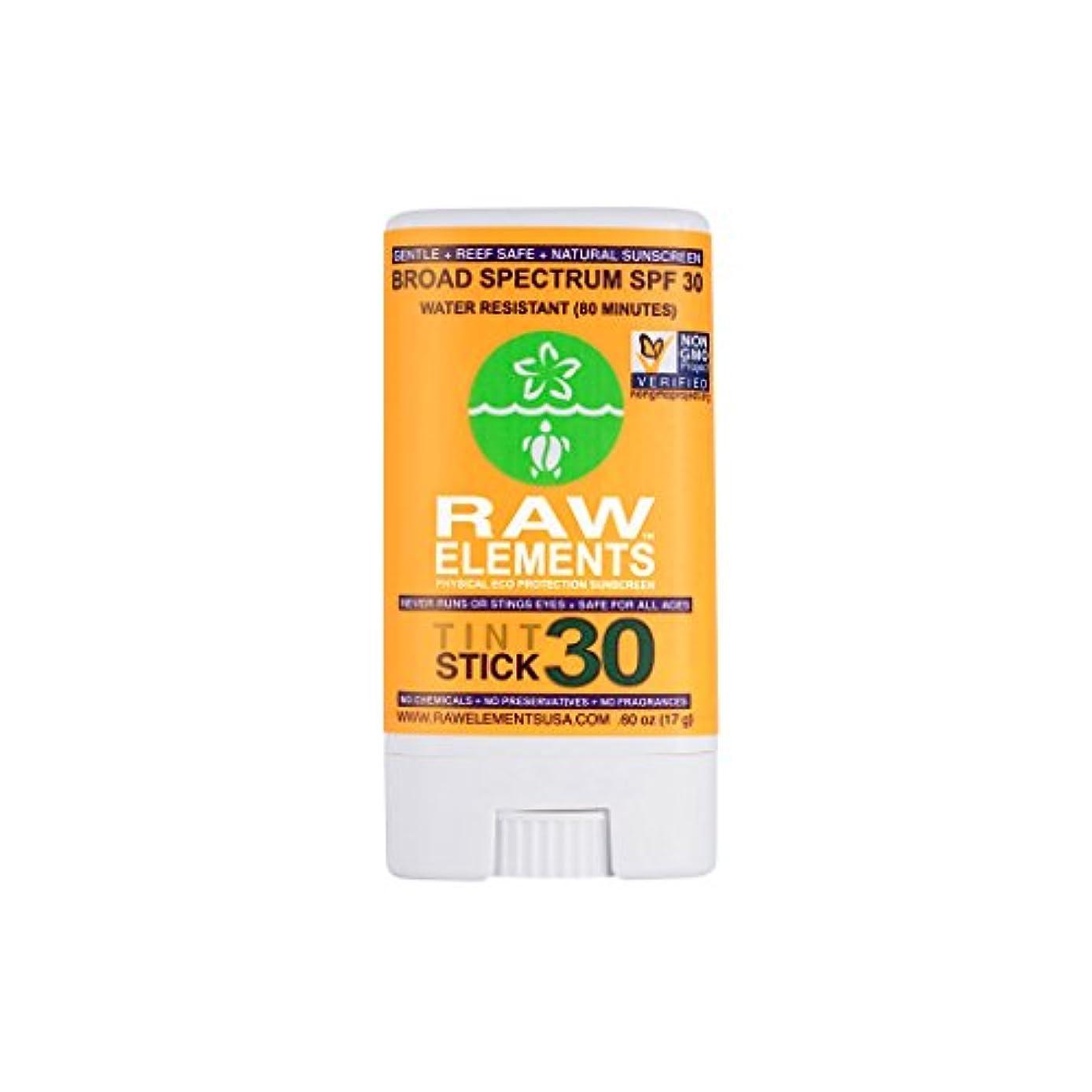 雇用ベリ拡声器海外直送品Raw Elements Sunscreen Tint Spf, 0.6 Oz