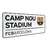 海外サッカー 公式 オフィシャルグッズ ホームスタジアム ストリートサイン 道路標識・看板 全5種 (FC Barcelona / バルセロナ) [並行輸入品]