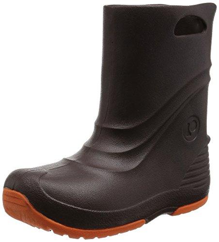 [プーキーズ] POOKIES ジュニア・キッズ 長靴 スノーブーツ兼用レインブーツ PK-EB520 ESP (エスプレッソ/22/23cm)