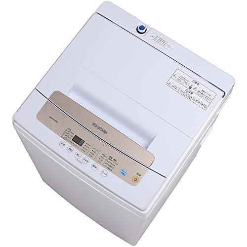 アイリスオーヤマ 5.0Kg 簡易乾燥付 全自動洗濯機 IAW-T502EN