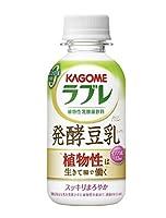 カゴメ 植物性乳酸菌ラブレ 発酵豆乳ミックス 130ml×12本×2ケース(クール便)