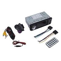 カーラジオ音楽プレーヤーリアビューカメラはMP 5 / MP 4 / MP3 / FMトランスミッタカービデオリモート+ 4 LEDカーカメラブラックをサポート
