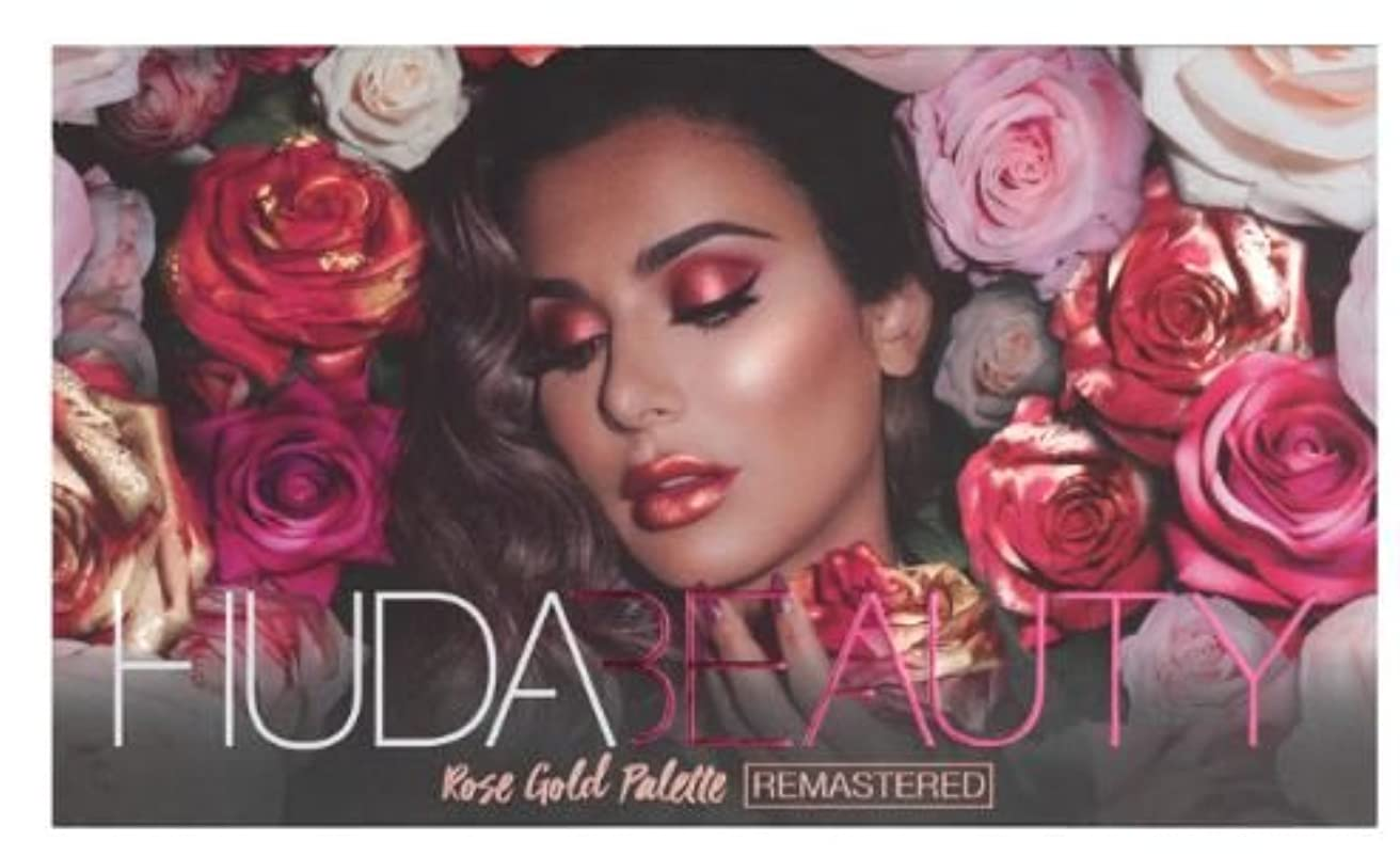 ガウン狐学士Huda Beauty ROSE GOLD PALETTE – REMASTERED フーダビューティ