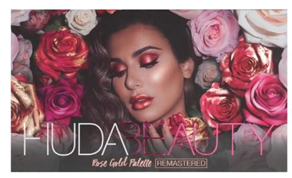Huda Beauty ROSE GOLD PALETTE – REMASTERED フーダビューティ