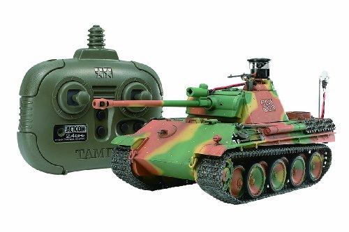 マスターワークコレクション No.100 1/35 RC ドイツ戦車 パンサーG 後期型 (2.4GHzプロポ付き) (完成品) 21100