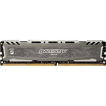 288-Pin DDR4 SDRAM DDR4 2666 PC4 21300 Deskt Ballistix Sport AT 16GB 2 x 8GB