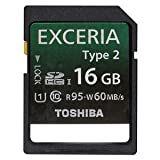 TOSHIBA SDHC UHS-Iカード EXCERIA Type2 16GB (SD-GU016G2)
