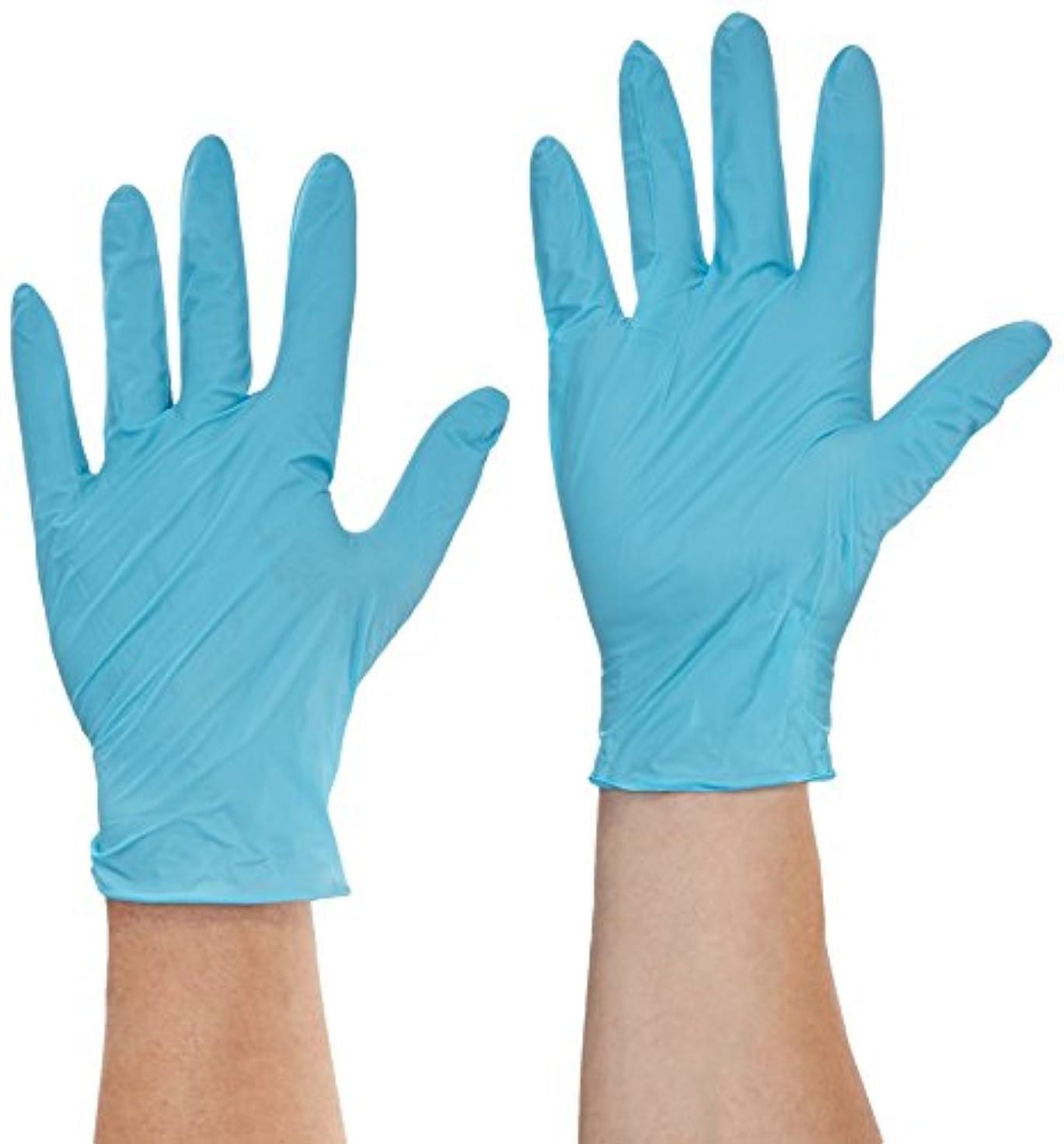 リンス主張するブレスSemperit 使い捨てニトリル手袋 Xpert 0.24mm 粉無 緑青 L(入数:90枚) 3000001630