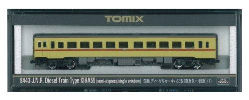 TOMIX Nゲージ 8443 キハ55 (準急色・一段窓) (T)