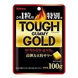 カバヤ タフグミ ゴールド 100g×6袋