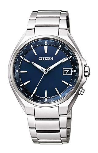 [シチズン] 腕時計 アテッサ エコ・ドライブ 電波時計 ダブルダイレクトフライト 針表示式 CB1120-50L メンズ シルバー