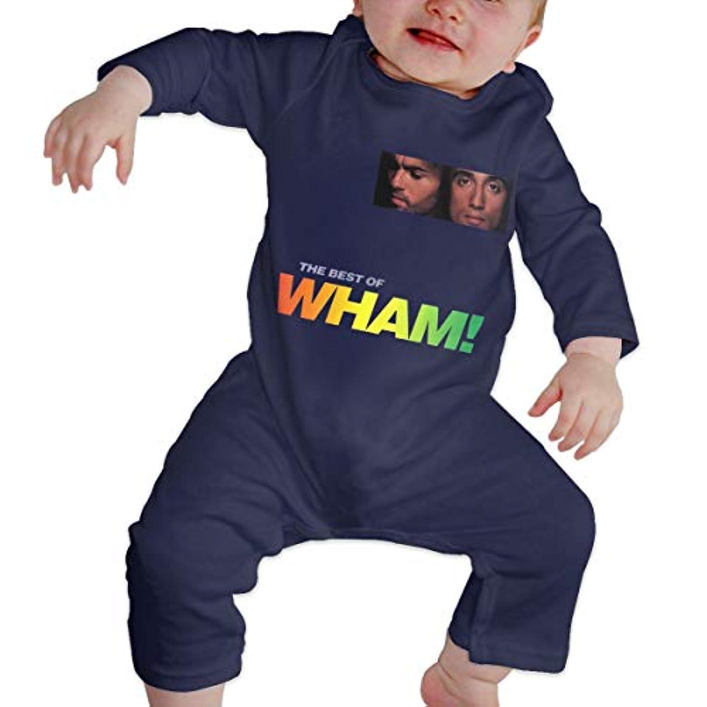 泣き叫ぶ炭水化物ポップBaby's、Kid's、Infant Utility、Cotton ジャンプスーツ、ロンパース、衣類、ボディスーツユニセックスベビークローラーNavy 2T