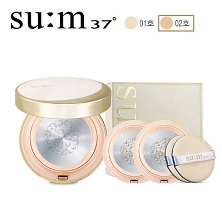 最適倫理ウィスキーsu:m37/スム37° スム37 AR TF グロウー メタルクッション 本品1個+リフィル2個 (sum 37ºAir RisingTF Glow Cover Metal Cushion 15g + Refill 2ea...