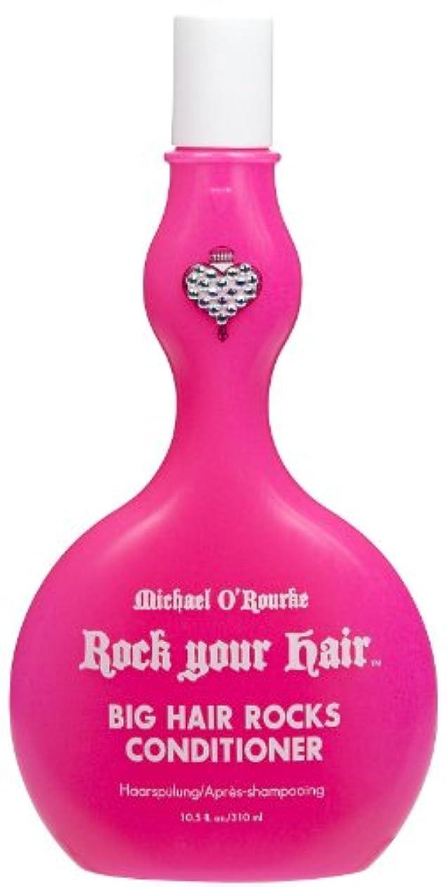 前奏曲テレビ局ウェーハRock Your Hair ビッグヘアーコンディショナー、10.5オンスロックス 1パック 栄養と保護し、安全な式