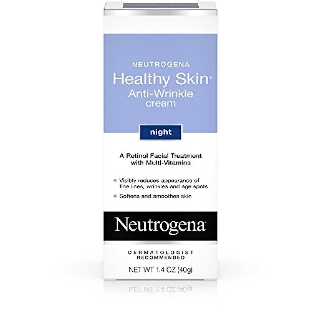 タイプケニア補正海外直送肘 Neutrogena Healthy Skin Anti-Wrinkle Night Cream, 1.4 oz