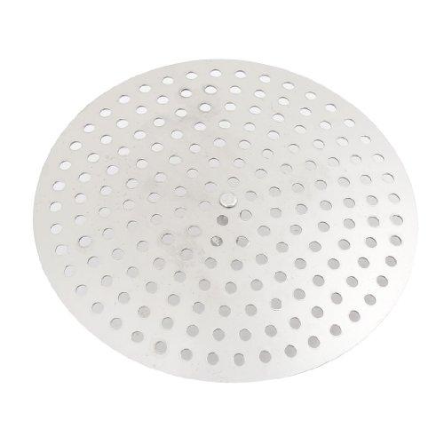 ゴミ受け キッチン 排水口用 洗面台 シンクストレーナー メッシュバスケット キッチンウェア シルバートーン 8cm直径