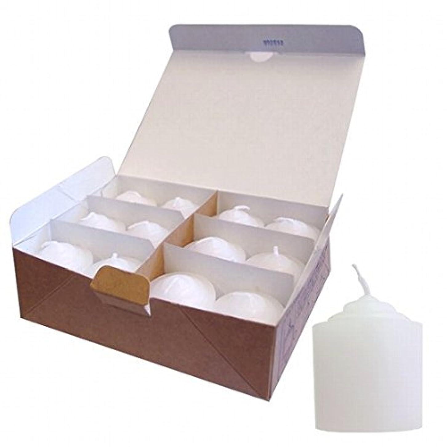 上院議員裕福なピークカメヤマキャンドル( kameyama candle ) 8Hライト(8時間タイプ)12個入り