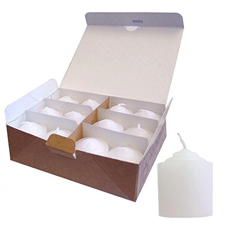 ボクシングゼリーマークされたカメヤマキャンドル( kameyama candle ) 8Hライト(8時間タイプ)12個入り